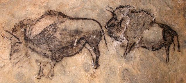 Bisontes en la cueva de Santimamiñe - Qué visitar en el País Vasco