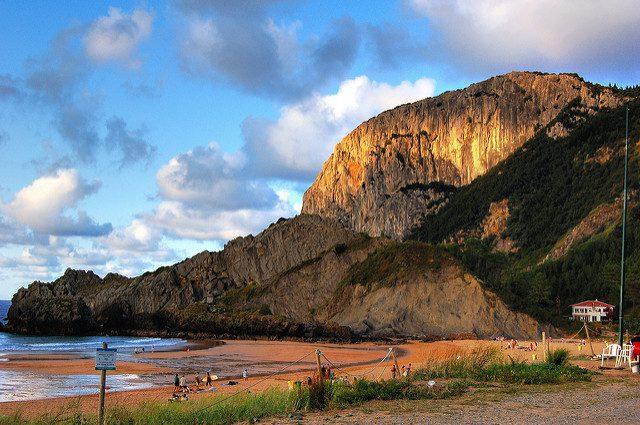 Playa de Laga - Qué visitar en el País Vasco