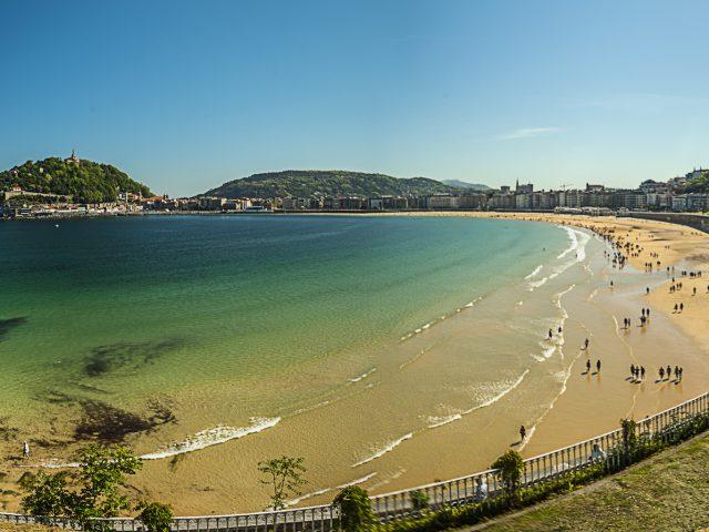Playa de la Concha en San Sebastián (Guipúzcoa) - Qué visitar en el País Vasco
