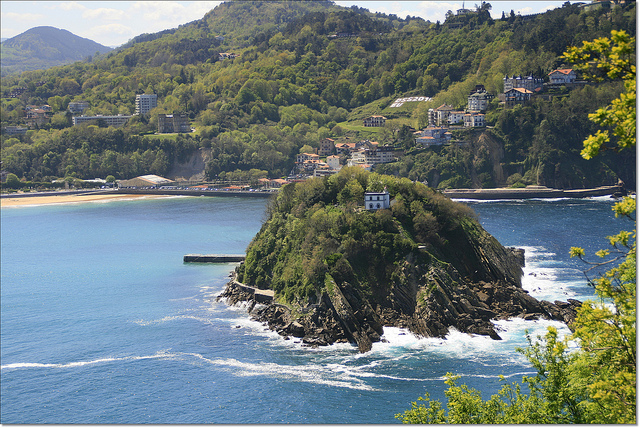 Isla de Santa Clara en San Sebastián (Guipúzcoa) - Qué visitar en el País Vasco