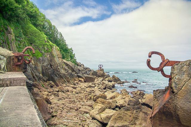 Peine del Viento en San Sebastián (Guipúzcoa) - Qué visitar en el País Vasco