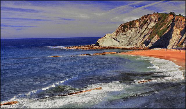 Playa de Itzurun - Qué visitar en el País Vasco