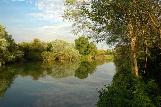 Río Zadorra en Vitoria (Álava) - Qué Visitar en el País Vasco