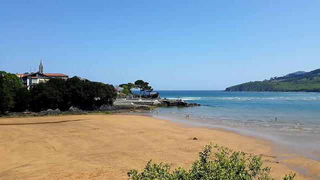 Playa de Laidatxu - Qué visitar en el País Vasco