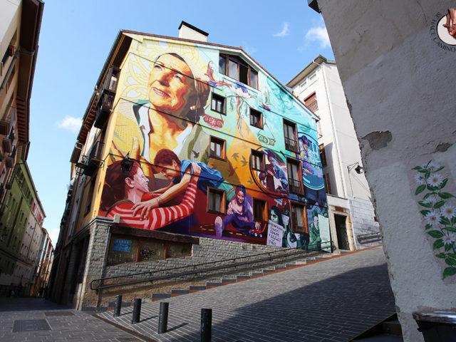 Street Art en Vitoria: 13 murales que no perderte