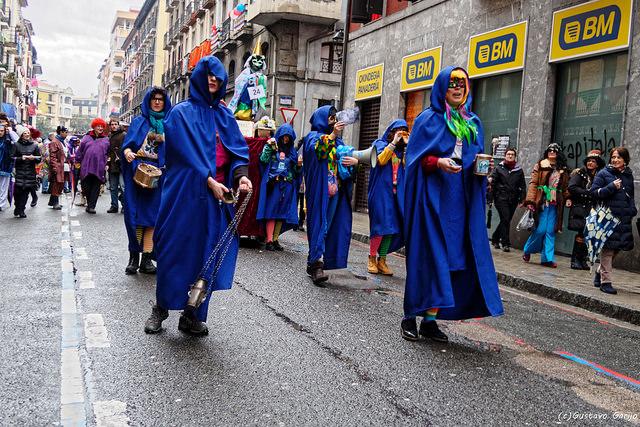 Carnaval de Tolosa (Guipúzcoa) - Qué visitar en el País Vasco