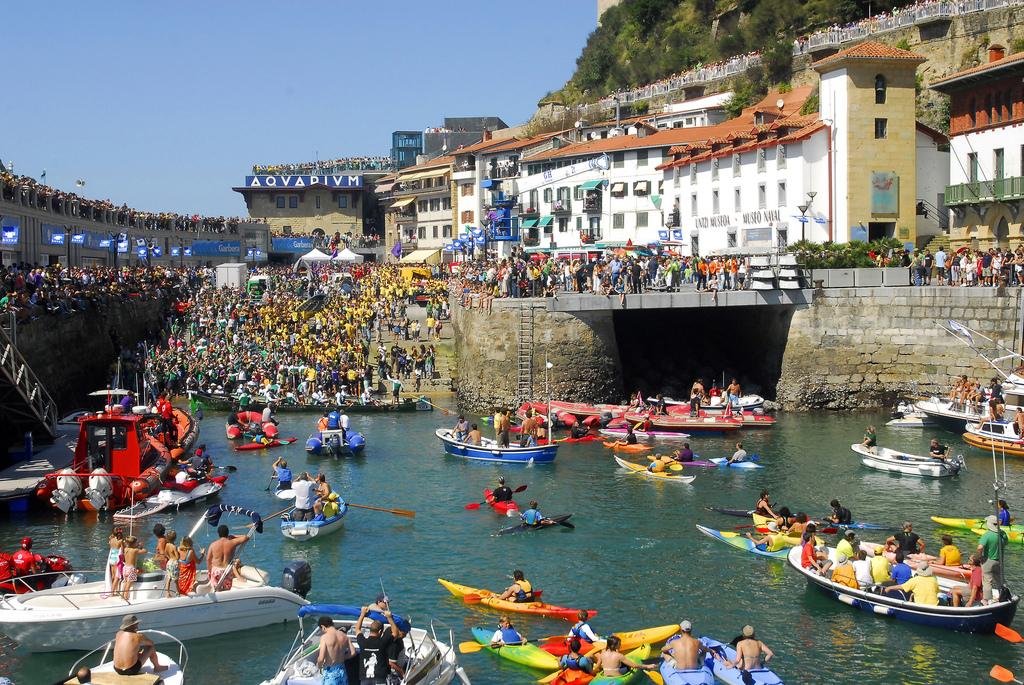 Bandera de La Concha en San Sebastián (Guipuzcoa) - Qué visitar en el País Vasco