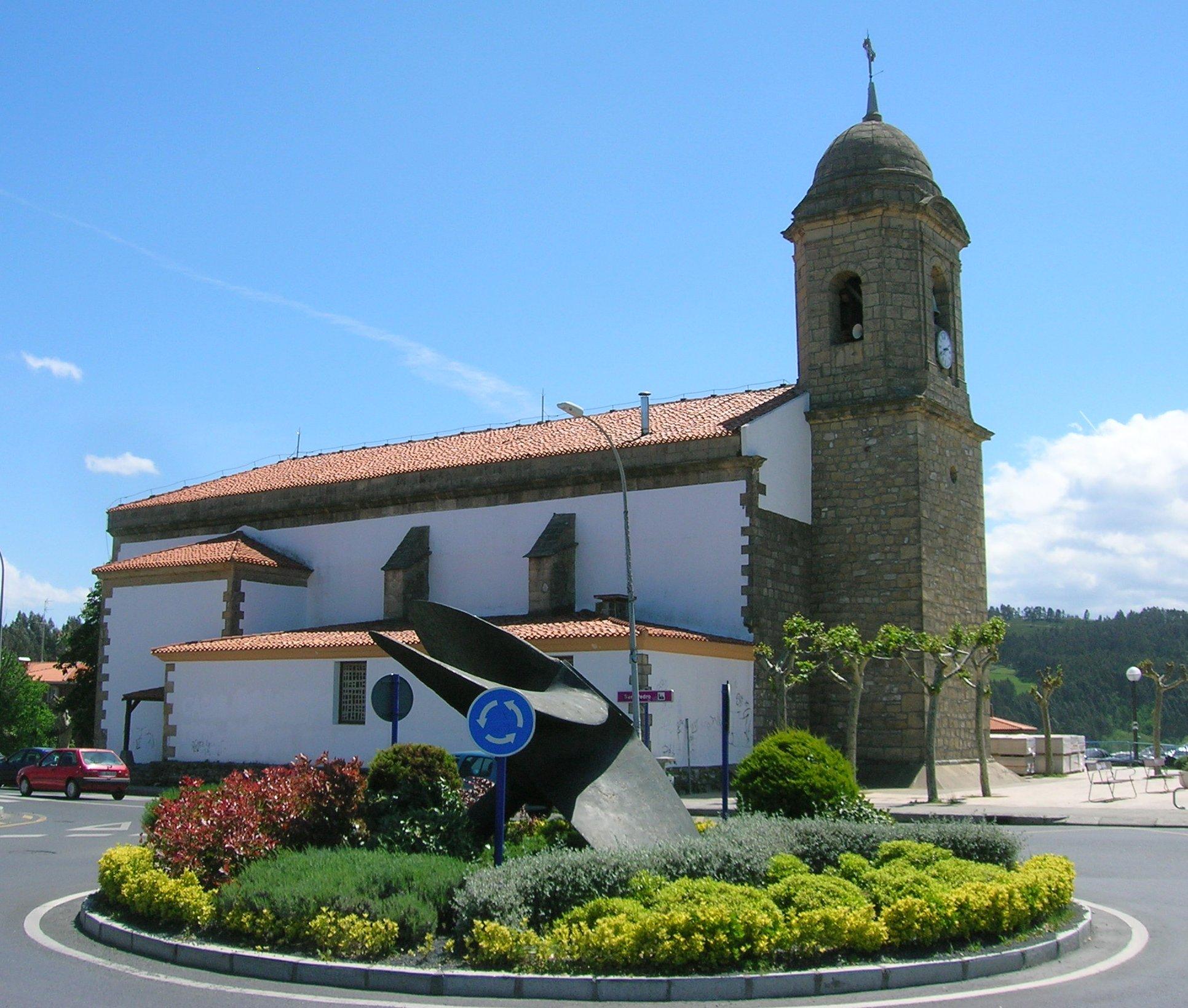 Iglesia de San Pedro - Qué visitar en el País Vasco