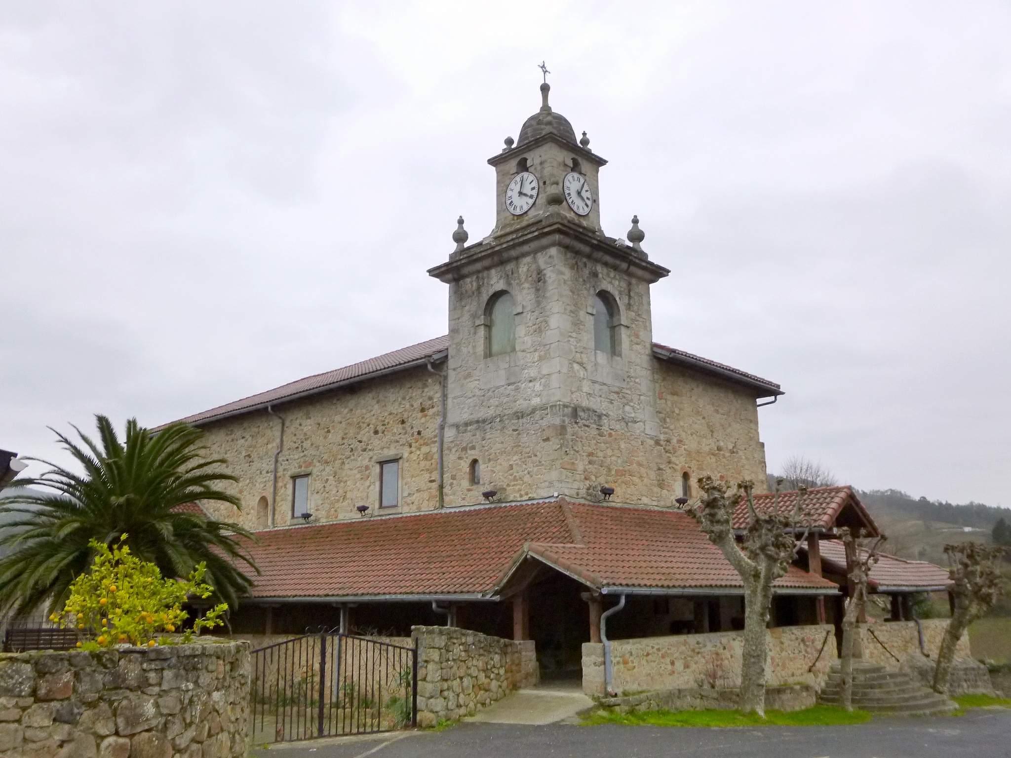 Parroquia de Andra Mari, Bakio (Vizcaya) - Qué visitar en el País Vasco