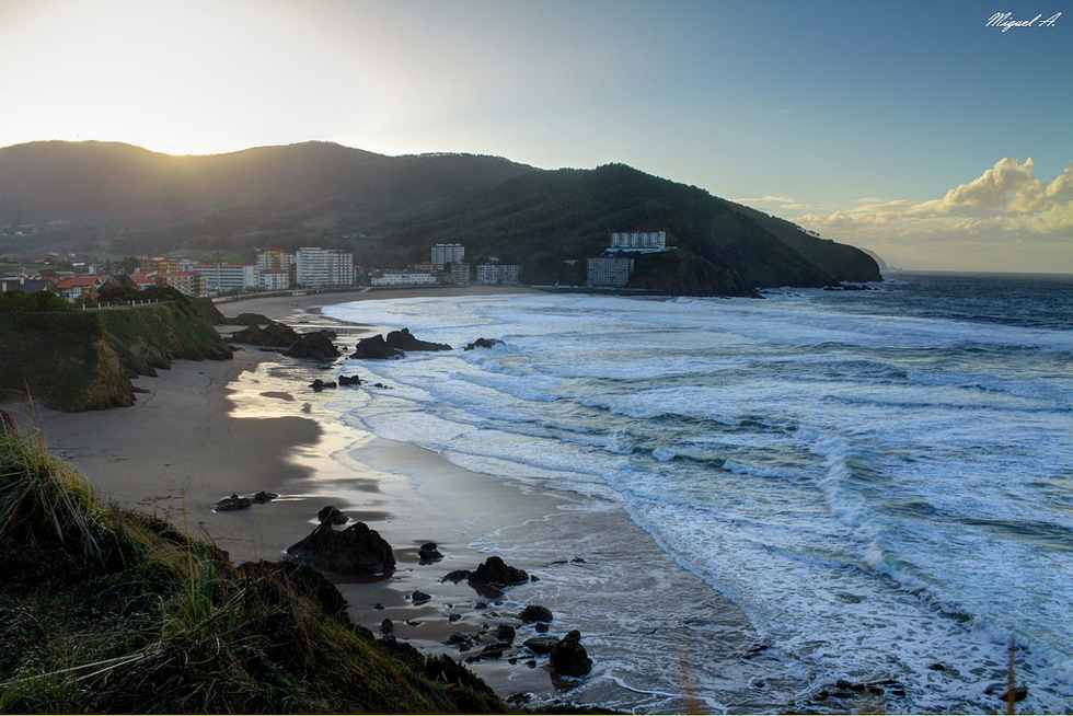 Playa de Bakio - Qué visitar en el País Vasco