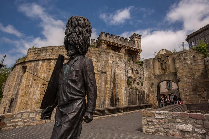 Puerta de Santa María en Hondarribia - Qué visitar en el País Vasco