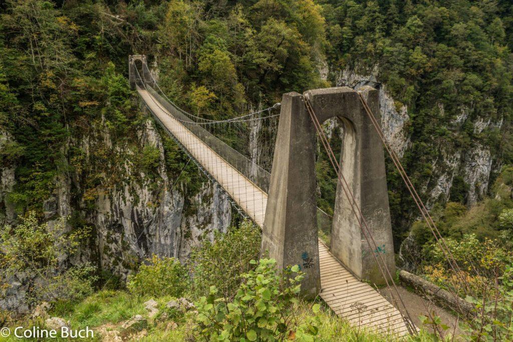 Puente colgante de Holzarte Zubia (Francia) - Qué visitar en el País Vasco