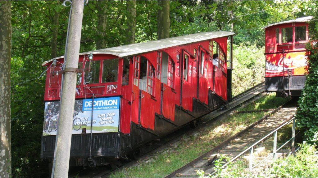 Funicular del Igueldo en San Sebastián (Guipúzcoa) - Qué visitar en el País Vasco