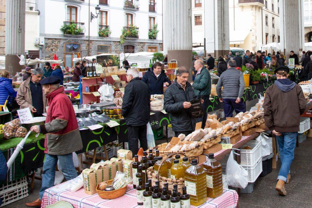 Mercado Tradicional de Ordizia - Qué visitar en el País Vasco