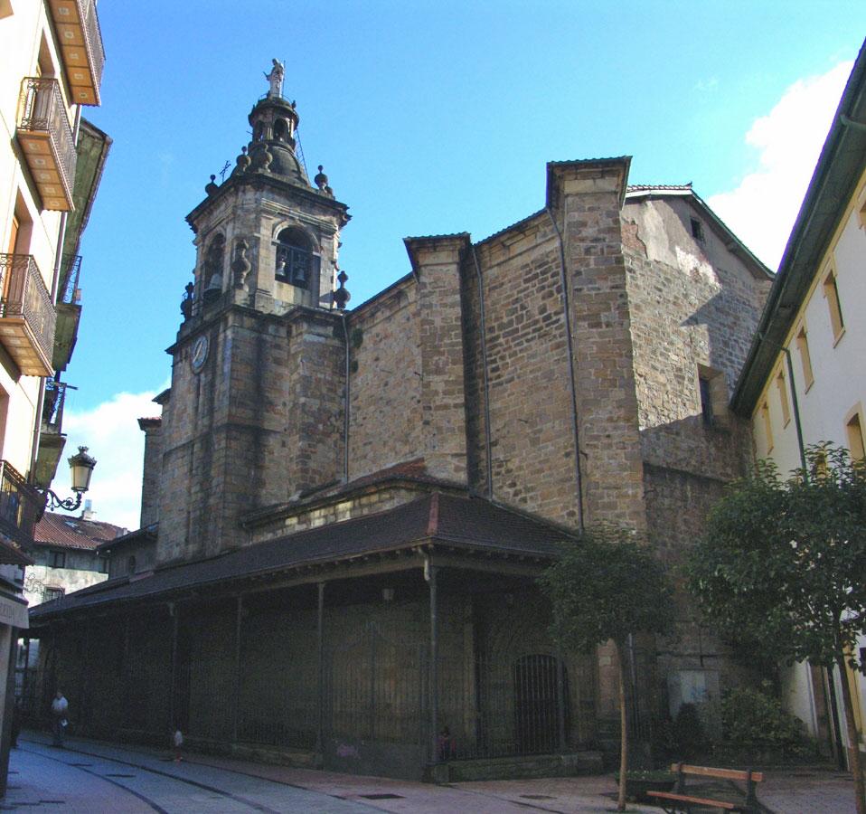 Iglesia Parroquial de Nuestra Señora de la Asunción (Ordizia) - Qué visitar en el País Vasco